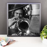 "Woody Shaw Framed Session Photo - ""Rosewood"" (Columbia Records 1978) (A)"