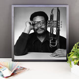 Woody Shaw Framed Publicity Photo (Columbia Records 1978) (C)