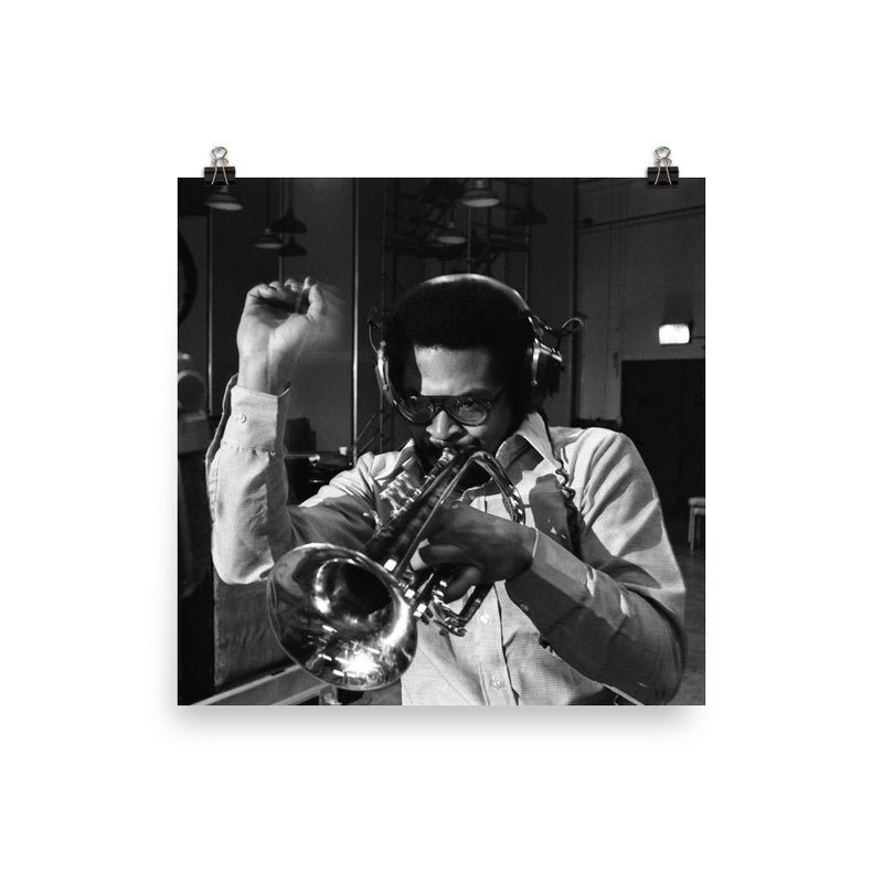 "Woody Shaw Session Photo - ""Rosewood"" (Columbia Records 1978) (D)"