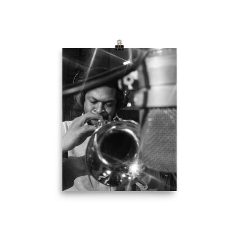 "Woody Shaw Session Photo -""Rosewood"" (Columbia Records 1978) (A)"