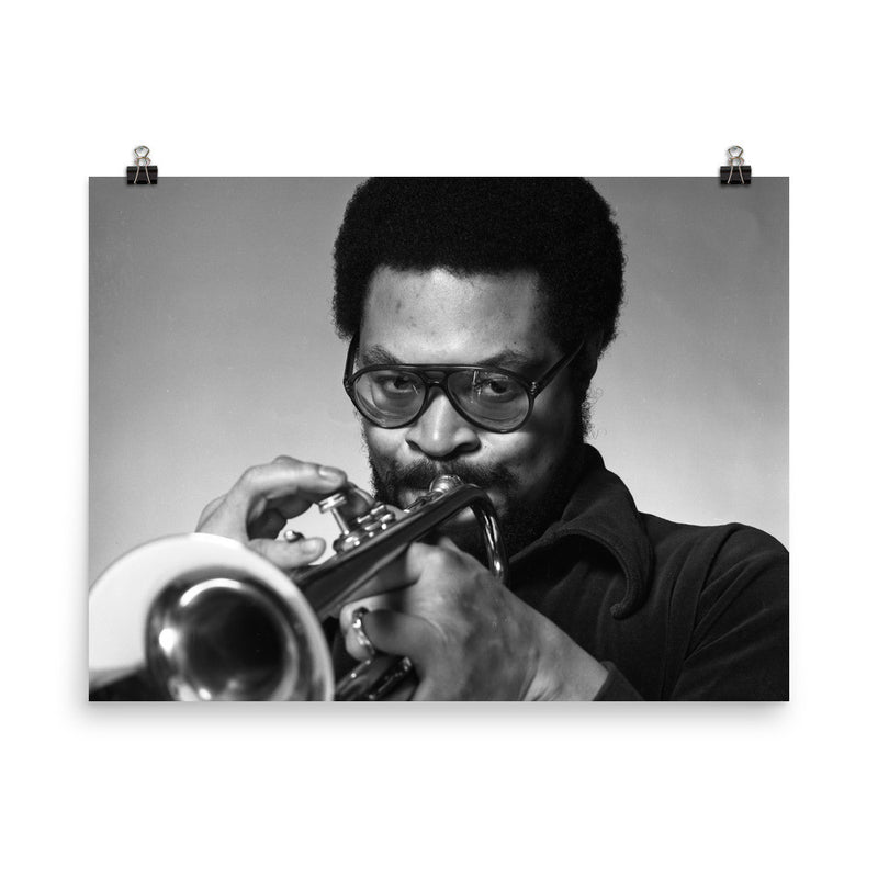 Woody Shaw Publicity Photo (Columbia Records 1978) (D)