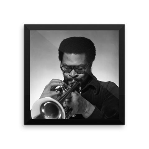 Woody Shaw Framed Publicity Photo (Columbia Records 1978) (E)