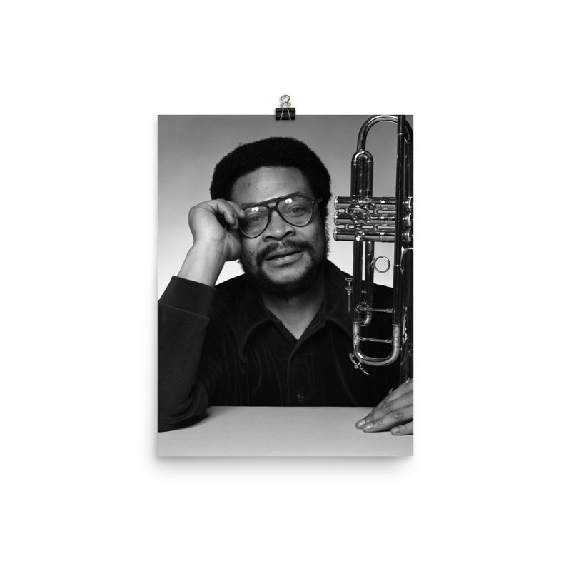 Woody Shaw Publicity Photo (Columbia Records 1978) (B)