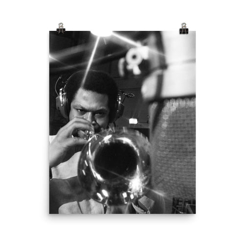 "Woody Shaw Session Photo - ""Rosewood"" (Columbia Records 1978) (C)"