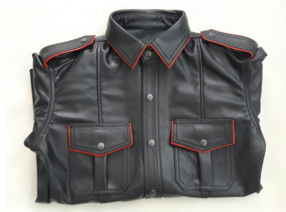 Black with Red trim BLUF® Shirt