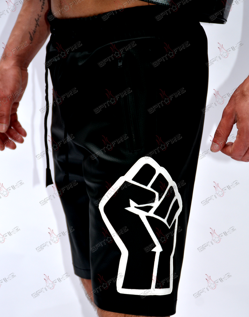 BLM Trackie Shorts