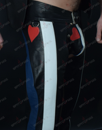 Leather Flag Chaps