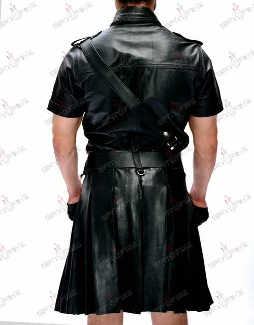 BLUF® Black Kilt Suit