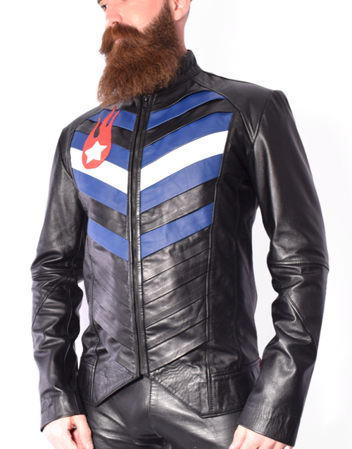 Leather Pride Jacket