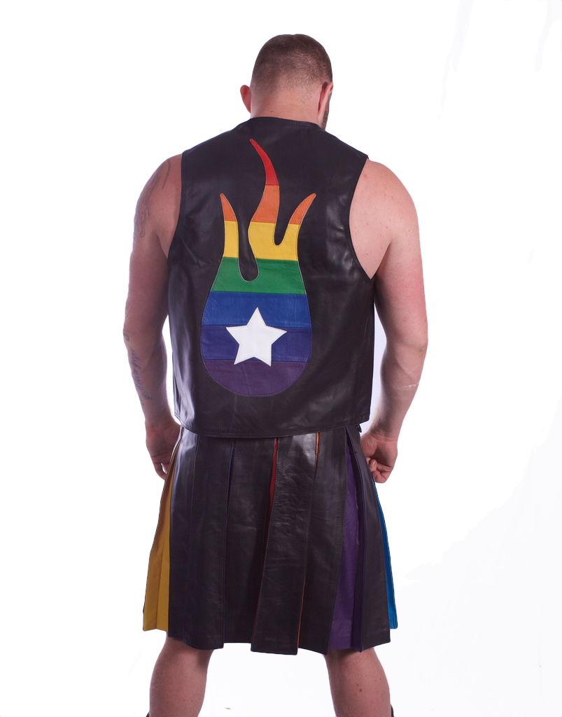 Spitfire Logo  Pride Waistcoat (LIMITED)