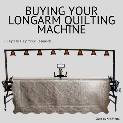 Buying a Longarm Quilting Machine