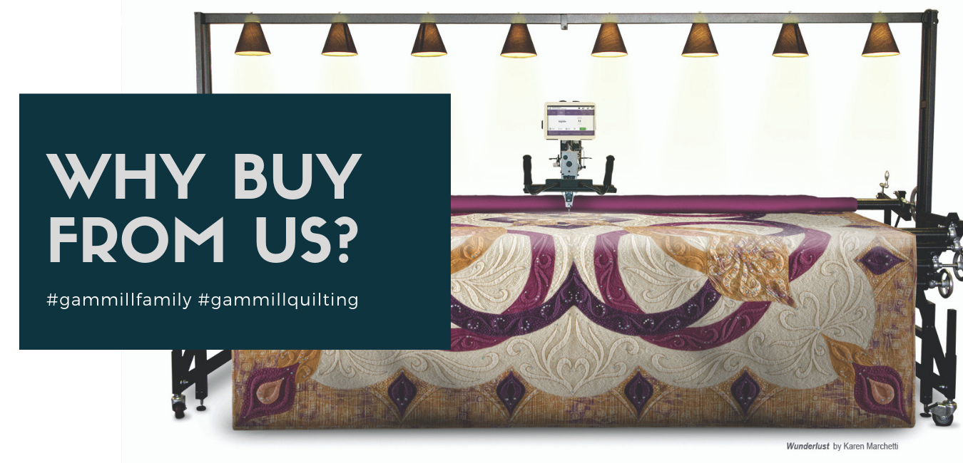 Gammill Quilting | Used Gammill Longarm Quilting Machine