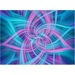 "Big Dream Dance Panel - Blue Hawaiian (44"" x 44"")  by Hoffman (24658-200)"