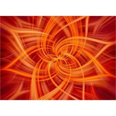 "Big Dream Dance Panel - Fire (44"" x 44"")  by Hoffman (24658-310)"