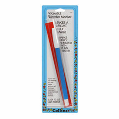 02 Water Erase Marking Pen Blue