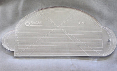 4-N-1 Machine Quilting Ruler by Natalia Bonner-Longarm ruler-Maple Leaf Quilting Company Ltd.