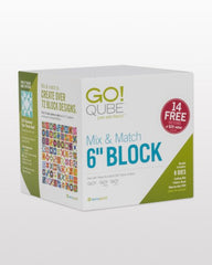 "GO! Qube Mix & Match 6"" Block (55775)"
