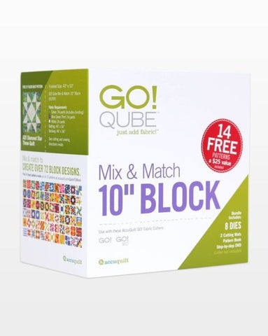 "GO! Qube Mix & Match 10"" Block (55797)"