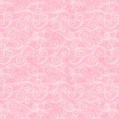 "108"" FLANNEL Wideback - Pink Swirly Scroll Essentials (5752-300)"