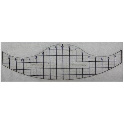 Curved Cross Hatch Template-Longarm ruler-Maple Leaf Quilting Company Ltd.