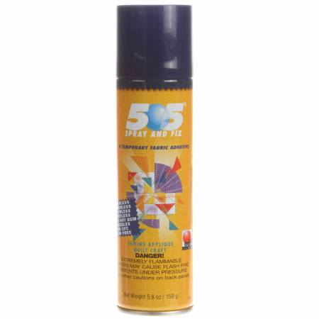 505 Spray & Fix Temporary Repositionable Fabric Adhesive 6.22oz (ORMD)