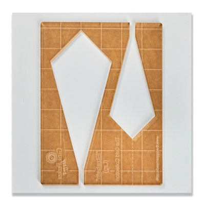 Gina Perkes Designs Elizabeth Large Quilting Ruler-Longarm ruler-Maple Leaf Quilting Company Ltd.