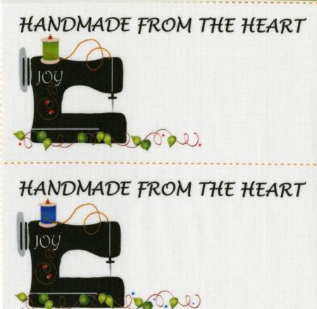 Quilt Labels Joy Sewing Machine #2 - 4 per pack