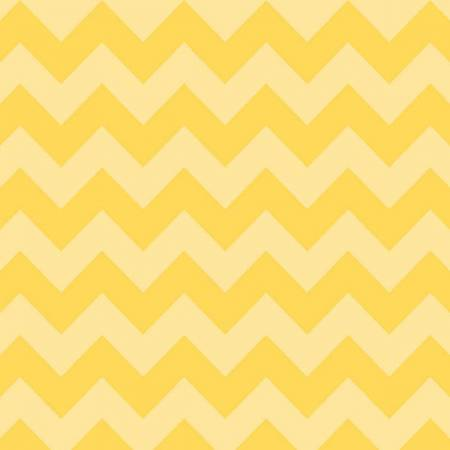 "108"" Medium Chevron Tont on Tone Yellow (WB380r-51YEL) -Sold by 1/4 m"