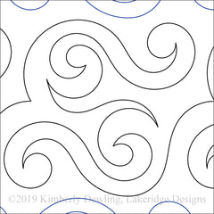 "Love Those Curls SM - 8"" Paper Pantograph"