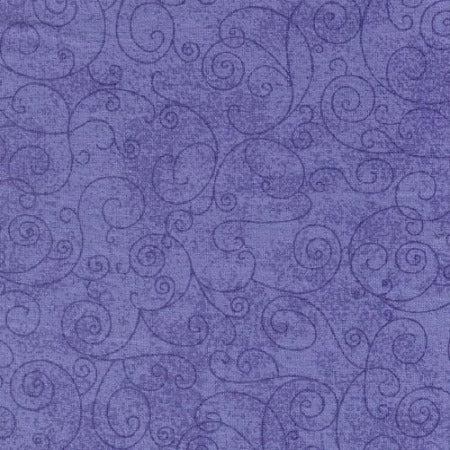 "Lavender Willow Swirl 110"" Flannel (RI9016-16) - Sold in UNITS of ¼ metre"