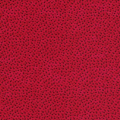 "Red Multi Spot 109"" Cotton (RI8090-04) - Sold in UNITS of ¼ metre"