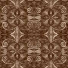 "Brown Baroque 108"" Cotton (9777-39) - Sold in UNITS of ¼ metre"