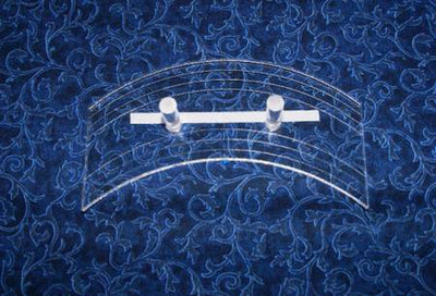"Fine Line Template Continuous Curves 6-1/2""-Longarm ruler-Maple Leaf Quilting Company Ltd."