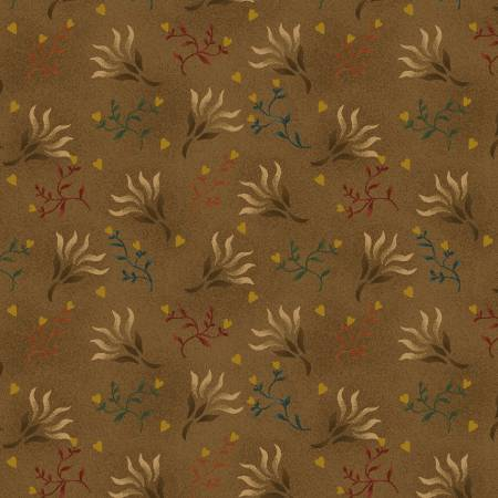 Brown Seaweed 108in Wide Back - sold by 1/4 metre