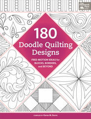 180 Doodle Quilting Designs - Softcover (B1381T)