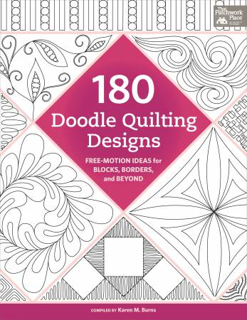 180 Doodle Quilting Designs - Softcover