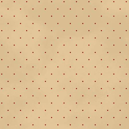 "- Tan Pin Dot 108"" Cotton (26588-TAN1) -Sold by 1/4 m"