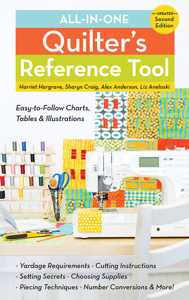 All in One Quilters Reference Tool Updated 2nd Edition