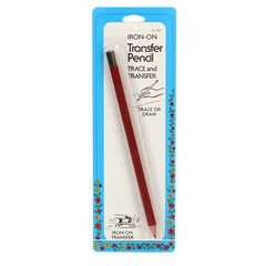 02 Iron on Transfer Pencil Red