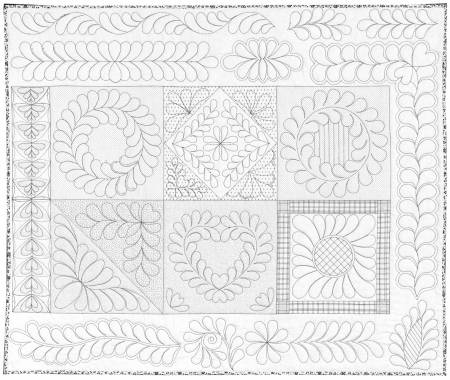 Skillbuilder 2 -Machine Quilting Panel