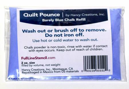 Pounce Pad Chalk Powder Refill Barely Blue (Q9B)