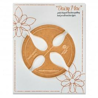 Gina Perkes Designs Daisy Mae Small Quilting Ruler-Longarm ruler-Maple Leaf Quilting Company Ltd.