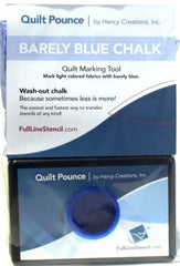 Stencil Chalk Transfer Quilt Pounce Pad Barely Blue (QPBB)