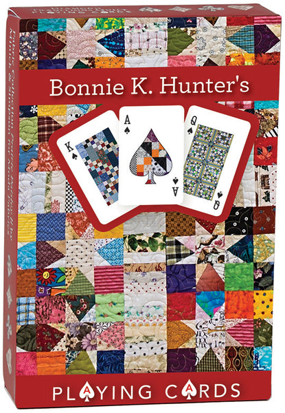 Bonnie K Hunter Playing Cards Single Pack