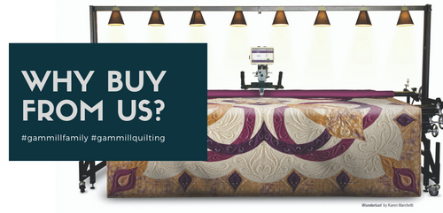 Gammill Longarm Quiltiong Machines