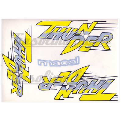 Kit de autocolantes para Macal Thunder