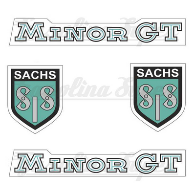 Kit de autocolantes SIS Sachs Minor GT
