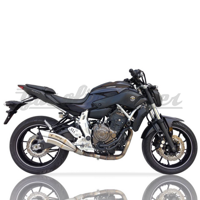Linha completa IXRACE Z7 inox - Yamaha MT-07 / MT-07 Cage - 2014 a 2016