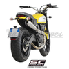 Sistema de escape SC-Project 2-1 Conic High - Ducati Scrambler