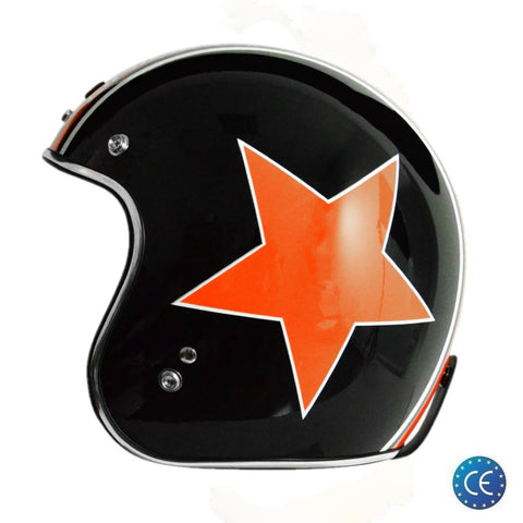 Capacete Origine Primo Astro Black-Orange